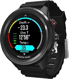 Outdoor Smart Sports GPS Waterdichte Horloge Hoogte Luchtdruk Kompas Thermometer Hartslag Multifunctioneel Duiken Horloge