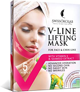 V Line Mask Chin Up Patch Double Chin Reducer Chin Mask V Up Contour Tightening Firming..