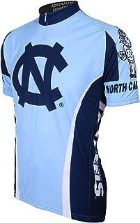 NCAA North Carolina Tar Heels Cycling Jersey, Light Blue/Dark blue