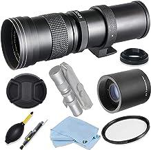 $139 » Vivitar 420mm-1600mm F8.3 Telephoto Zoom Lens for Nikon D850, D810, D750, D610, D500, D7500, D7200, D7100, D5600, D5500, D5300, D5200, D3500, D3400, D3300, D3200 Digital SLR Cameras