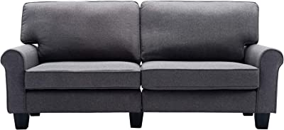 Amazon.com: vidaXL Chesterfield 3 Seater Sofa Settee Couch ...