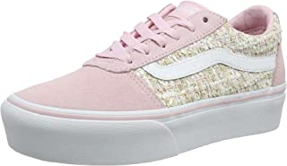 Vans 范斯 女式 Ward 防水台 麂皮运动鞋