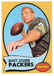Football NFL 1970 Topps #30 Bart Starr EX-MT Packers