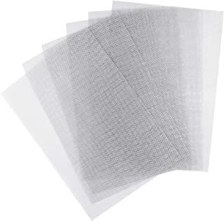 Dxhycc 6 Pack Stainless Steel Woven Wire Mesh 11.8X8.2inch, Metal Mesh Sheet Air Vent Mesh 1mm Hole 20 Mesh Great for Air Ventilation
