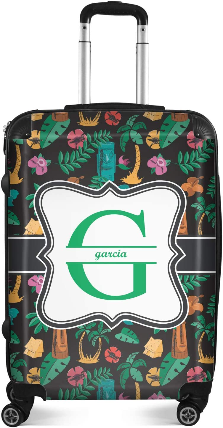 Hawaiian Masks Suitcase - Save Soldering money Checked Personalized 24