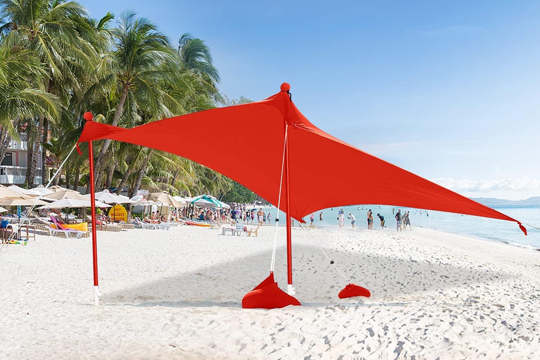 ABCCANOPY Beach Sunshade Tent Popular brand in the world UPF50+ Seasonal Wrap Introduction Shel UV Protection Portable