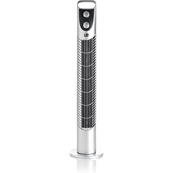 Ventilador de torre color acero Inoxidable 40W.De Universalblue ...