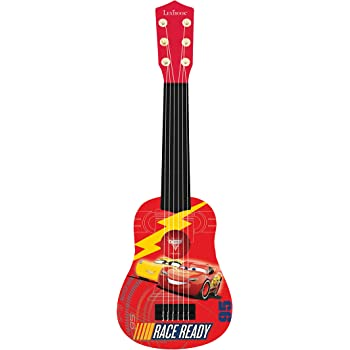 Cars K200DC Disney 3-Mi Primera Guitarra, 6 Cuerdas, 53 cm de ...