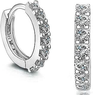Small Hoop Earrings for Women Huggie Earrings Sterling Silver Cartilage Earrings for Girls