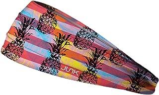 JUNK Brands Pineapple Express Big Bang Lite Headband, Purple/Pink/Orange, One Size