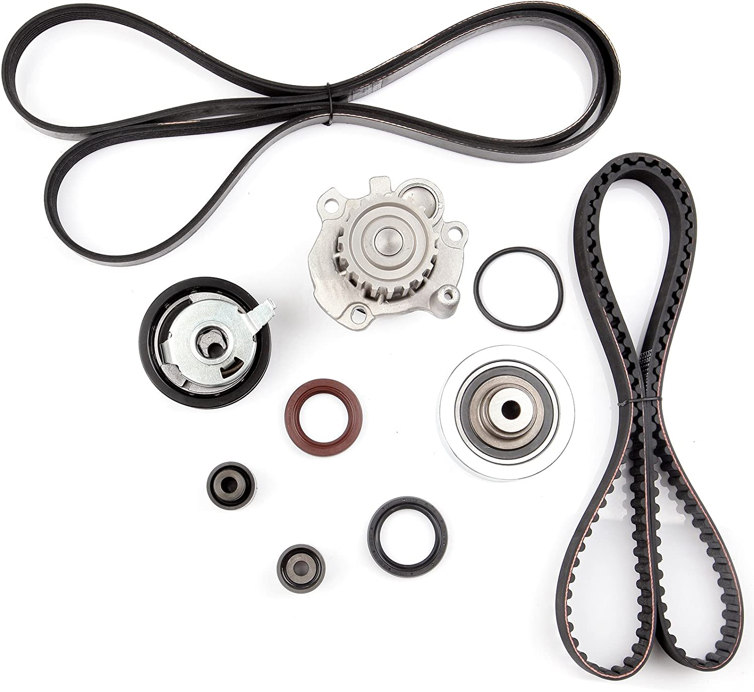 Scitoo Timing Belt Water Pump Tensioner 1998-2004 V Kit Fit Cheap Albuquerque Mall mail order shopping 1.9L