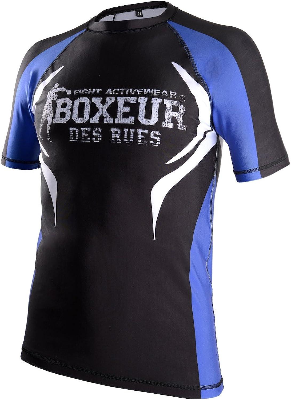 BOXEUR DES RUES Fight Activewear Kurzarm MMA-T-Shirt für Herren B01C8XJB6U  In hohem Grade geschätzt und weit Grünrautes herein und heraus