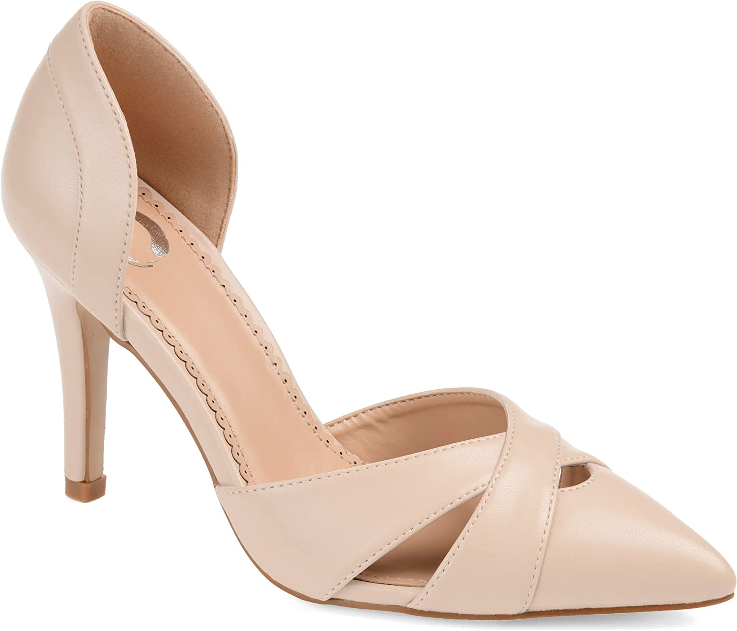 Direct stock discount Journee Collection Womens Max 78% OFF Pump Dora