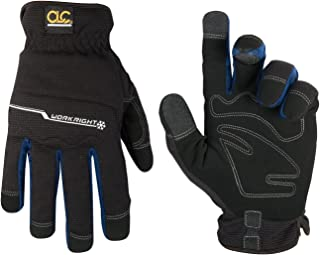 CLC Custom Leathercraft L123L Workright Cold Weather Insulation Flex Grip Work Gloves,..