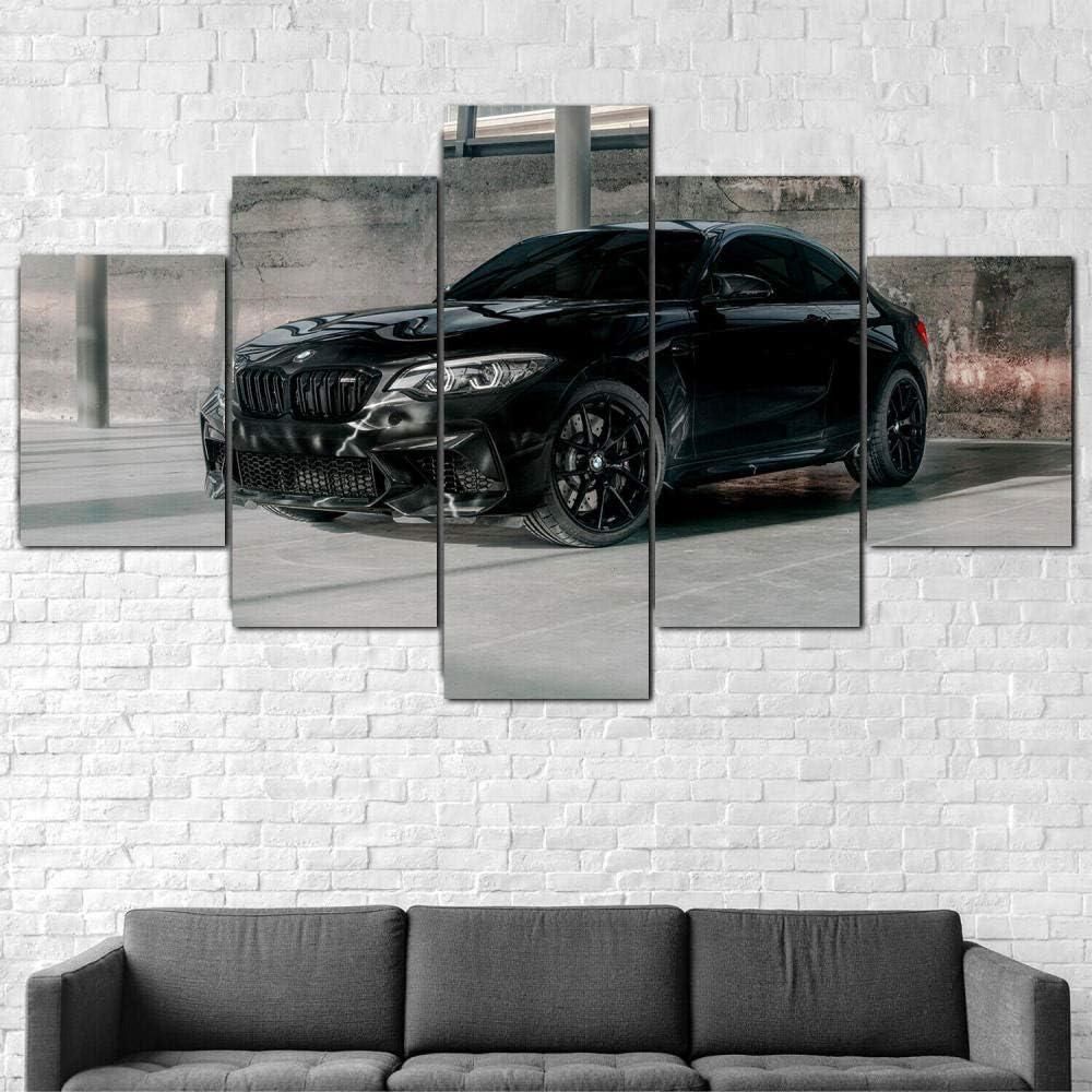 13Tdfc 5 Teilig Leinwand Wanddeko BMW M2 Edition Futura Auto Malerei Leinwanddrucke Geschenk 5 Stück Leinwand Bilder Moderne Wandbilder XXL…