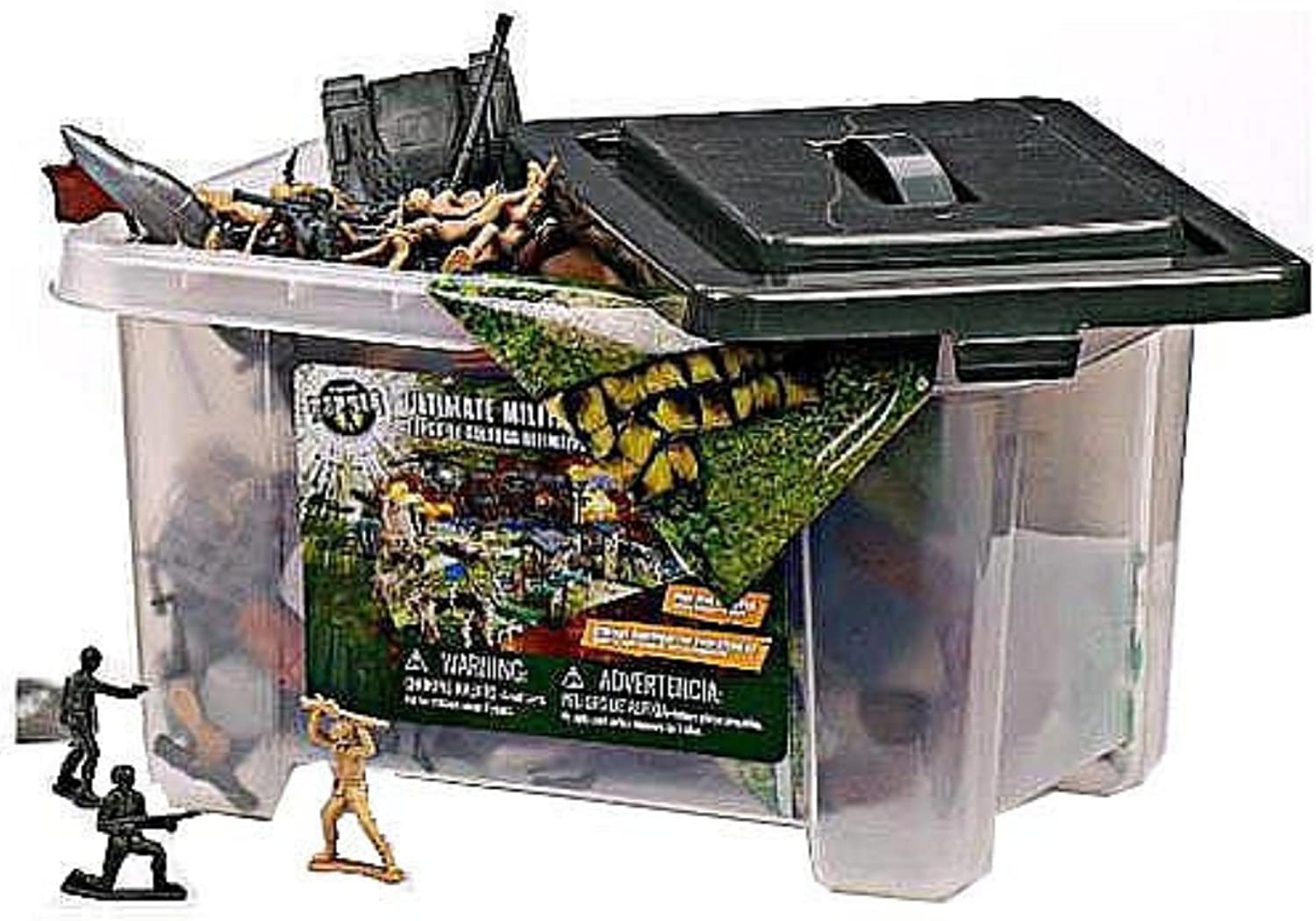 True Heroes Ultimate Military Playset 100 piece set with storage container by True Heroes Ultimate Military Playset TOY (English Manual)