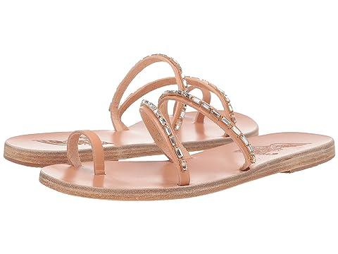 Ancient Greek Sandals Apli Katia Diamonds
