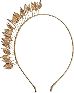 Morgan & Taylor Women's Honey Headpiece, Gold, One Size