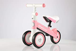 Upten Kiwicool Baby Balance Bike for 10-24 Months, Children Tricycle Toddlers Ride on Trike Toys for 1-2 Year Old First Gi...