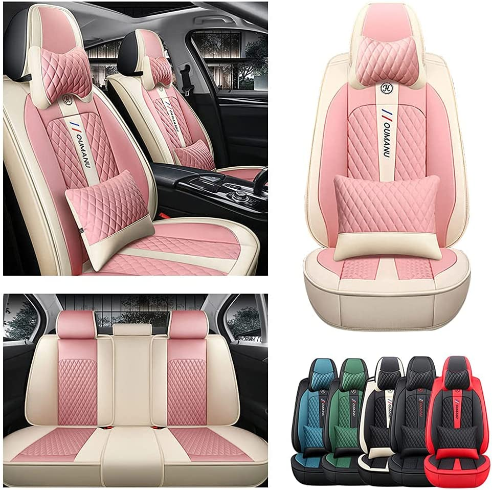 Front Rear Seat Covers with Toy Headrest Cushions Sale for Backrest Arlington Mall