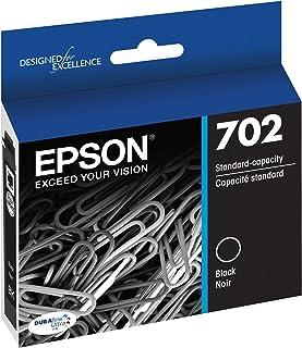 Epson T702120 DURABrite Ultra Black Standard Capacity Cartridge Ink