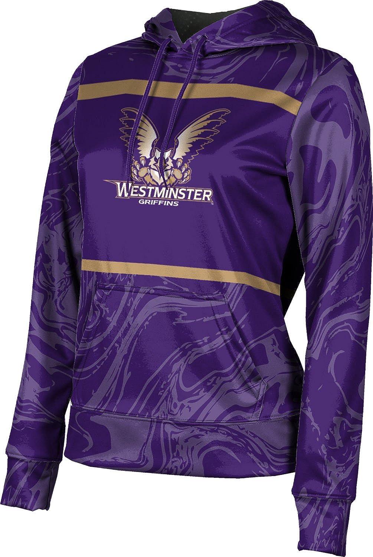 ProSphere Westminster College Girls' Pullover Hoodie, School Spirit Sweatshirt (Ripple)