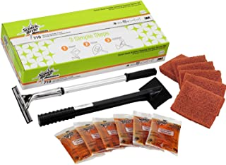 3M Scotch-Brite Griddle Cleaning, Quick Clean System, Heavy Duty, Cleans in 3-5 Minutes, For Baked On Food and Cooking Oil...