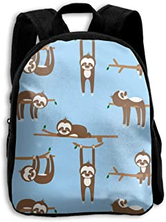 Create Magic Lazy Sloths Kid's Backpack Shoulder Bags - 13.4 Inches