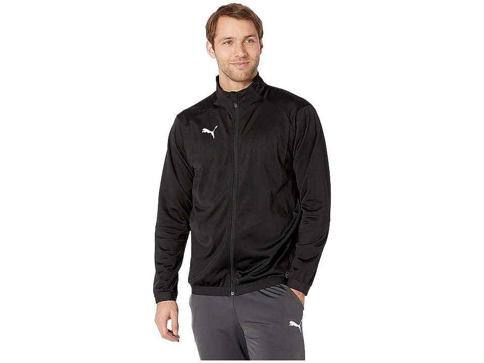 PUMA Liga Training Jacket (Puma Black/Puma White) Men