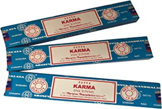 Satya Sai Baba - Karma Incense Sticks - Pack of 3 (15 Gram Each)