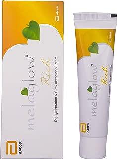 Melaglow Rich Skin Brightening and Lightening Cream, 20g