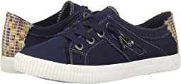 Pure Navy Smoke Canvas