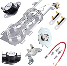 8544771 Dryer Heating Element Replacement for Whirlpool Kenmore, Dryer Repair Kit with 279973 3392519 Thermal Fuse and 279816 Thermostat