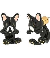 Kate Spade New York - Ma Cherie Antoine Dog Ear Jacket Earrings
