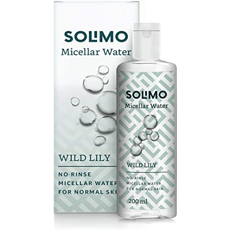 Amazon Brand - Solimo Micellar Water,Wild Lily, 200ml
