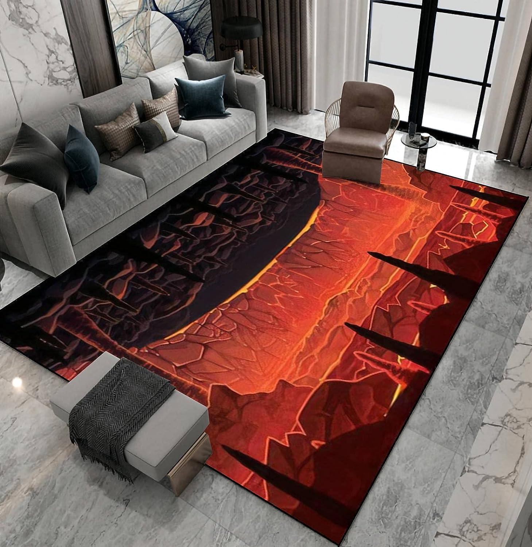 Area Rug Non-Slip Floor Mat Inf Background Landscape of Sales Seamless Albuquerque Mall