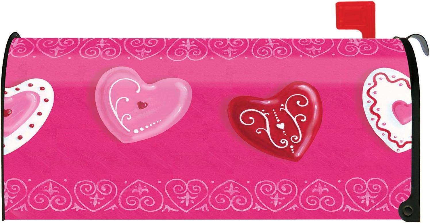 Toland Home Garden Excellence Heart Cookies Cookie Cute Dessert M Mail order Valentine