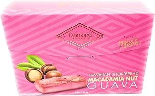 Diamond Bakery Hawaiian Shortbread Macadamia Nut Guava Cookies 4 oz