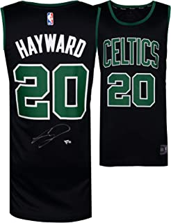 a928232d925a Gordon Hayward Boston Celtics Autographed Fanatics Black Fastbreak Jersey -  Fanatics Authentic Certified