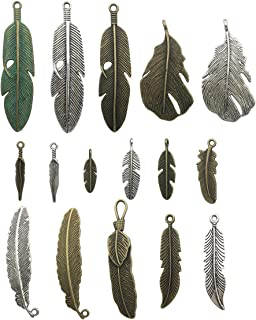 Best feather necklace charm Reviews