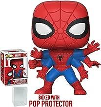 Funko Pop! Marvel: Six Arm Spider-Man (Walgreens Exclusive) Vinyl Figure (Bundled with Pop Box Protector Case)