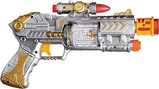 Feilun Lighting Gun For Boys, Silver Gold