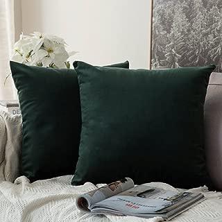 sage green velvet cushion