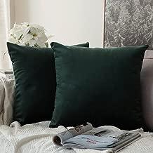 Best green velvet pillow covers Reviews