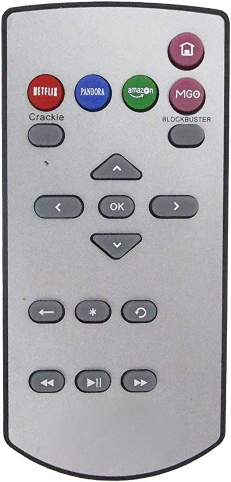 HCDZ Replacement Remote Control for Roku HD 2000C 2100X XD LT Streaming Digital Media Player