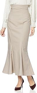 snidel 高腰紧身下摆喇叭裙 SWFS214155 女士