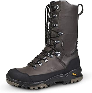 Härkila Driven Hunt GTX Lined Leather Hunting Boots for Men - Waterproof Winter Boots for Hunting