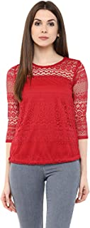 84e9941332a90b Net Women's Tops: Buy Net Women's Tops online at best prices in ...