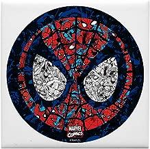 CafePress Spiderman Mask Tile Coaster, Drink Coaster, Small Trivet