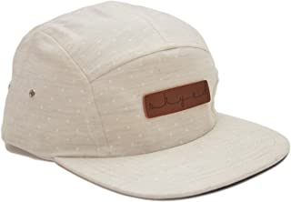 5 Panel Hat Collection with Genuine Leather Strap (Multiple Colors)